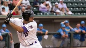 Nick Basto is working on a seven-game hitting streak. (Jody Stewart/W-S Dash)