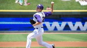 Matt Heidenreich fired eight innings of one-run ball Saturday in a no-decision. (Jody Stewart/W-S Dash)
