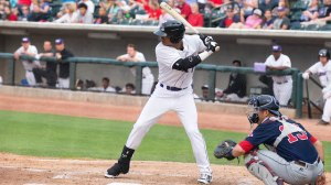 T.J. Williams launched his first career High-A dinger Saturday. (Jody Stewart/W-S Dash)