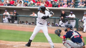 T.J. Williams went 3-for-4 Saturday to lead the Dash by Carolina. (Jody Stewart/W-S Dash)