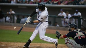 Trey Michalczewski has an RBI in six straight games. (Jody Stewart/W-S Dash)