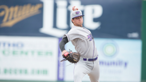 Jordan Guerrero matched a career-high Wednesday with 11 strikeouts. (Erin Mizelle/W-S Dash)