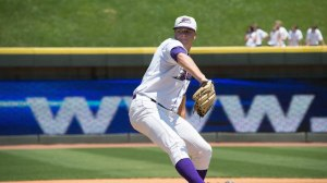 Brian Clark did not allow an earned run in six innings of work on Tuesday. (Jody Stewart/W-S Dash)
