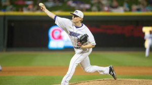 James Dykstra fired 4.2 shutout innings out of the bullpen on Thursday. (Jody Stewart/W-S Dash)