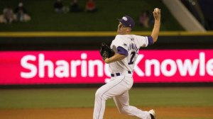 Winston-Salem Dash pitcher Matt Heidenreich (32)
