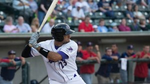 Nick Basto went 2-for-3 with an RBI single Thursday. (Jody Stewart/W-S Dash)