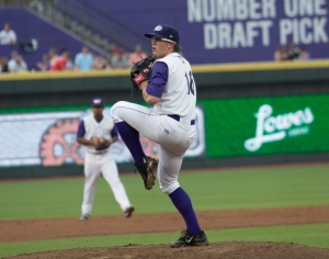 Carson Fulmer made his debut for the Dash on July 23 against Carolina (Jody Stewart/W-S Dash).